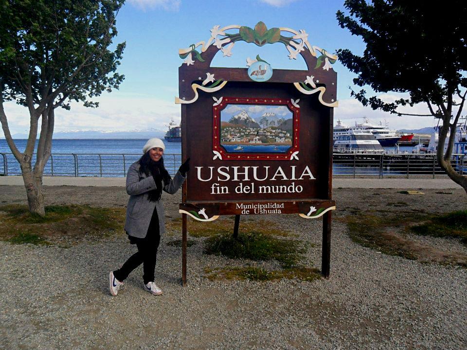 Foto clássica em Ushuaia