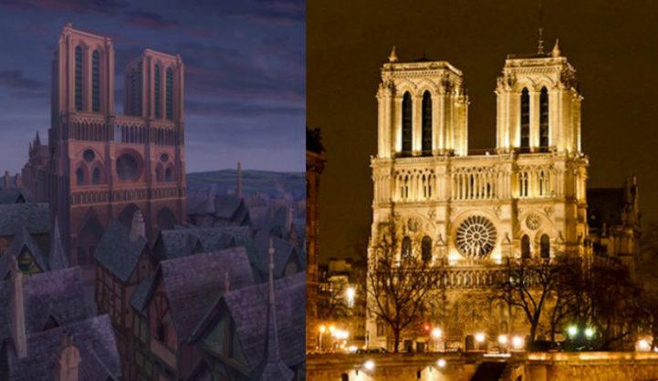 A Catedral de Notre-Dame, na França
