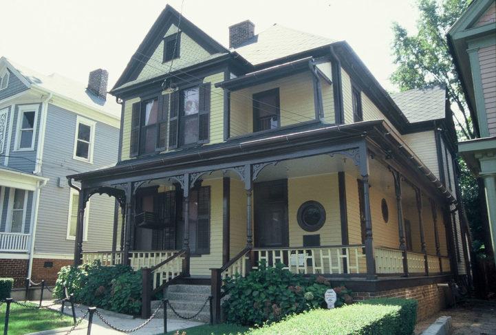 Casa onde Martin Luther King Jr. morou, nos EUA