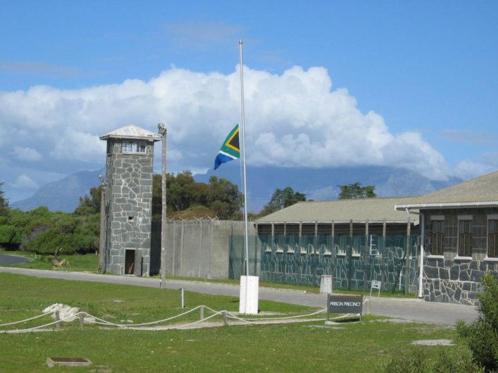Presídio na ilha Robben, na África do Sul, onde Mandela foi mantido preso