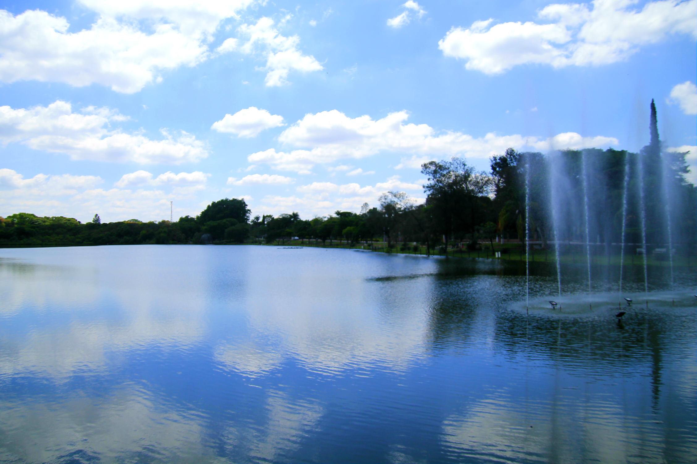 Lago Victória Régia (Foto: Thaís Sabino)