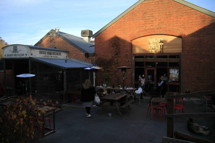 Bridge Road Brewery, em Beechworth (Foto: Thaís Sabino)